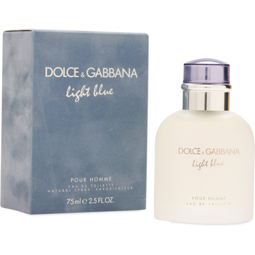 Dolce & Gabbana Light Blue Pour Homme Eau de Toilette Spray, 2.5 oz