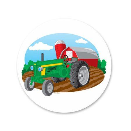 Farm Tractor Edible Icing Image Cake Decoration Topper -1/4 Sheet for $<!---->