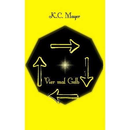 Vier mal Gelb - eBook (Gelb Camo Stoff)