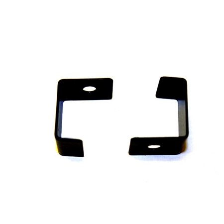 Arcade Game Powdered Coated Black Glass Clip for Cocktail Machines and Cocktail Cabinets