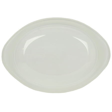 Corningware Replacement Lid 2.5Qt Clear Oval Storage Cover for French White Baking Dishes (sold separately)