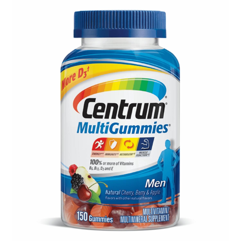 Centrum MultiGummies Men Multivitamin Gummies, 70 ct