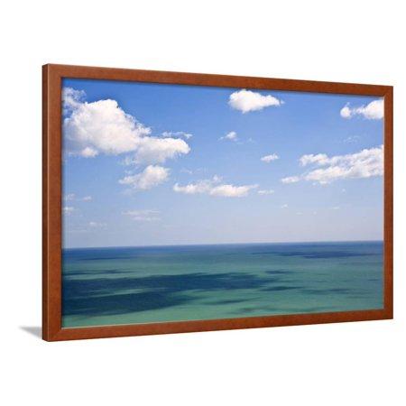 tropical paradise beautiful beach location scene framed print wall art by veneratio. Black Bedroom Furniture Sets. Home Design Ideas