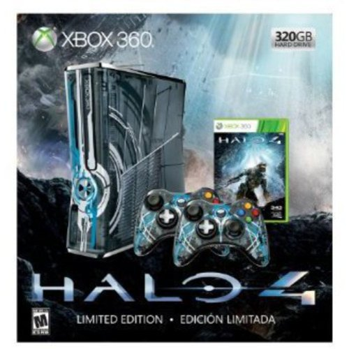 Halo 4 Xbox 360 320GB Console Bundle (Limited Edition)