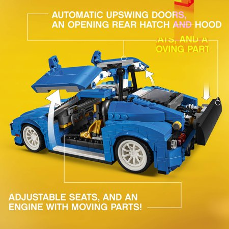 Lego Creator Turbo Track Racer 31070 Building Set 664 Pieces
