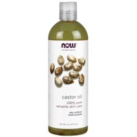 Now, 100% Pure Castor Oil for Skincare, 16 oz