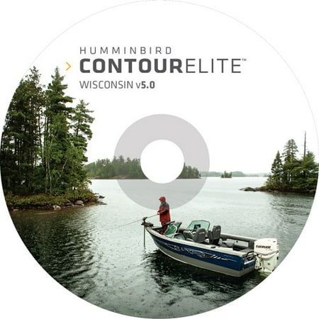 Humminbird Contour Elite Wisconsin PC Software