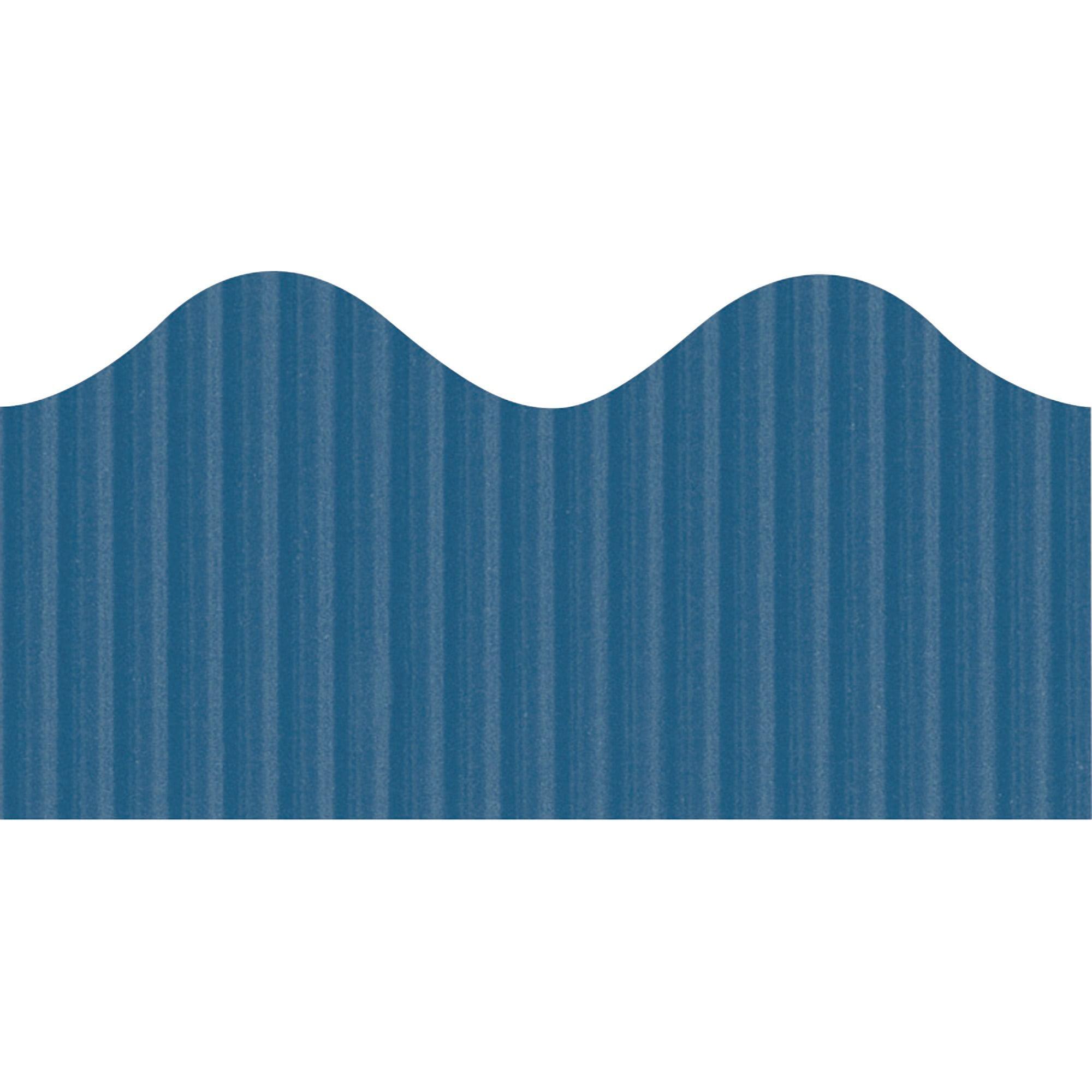 Bordette, PAC37184, Decorative Border, 1 / Roll, Rich Blue