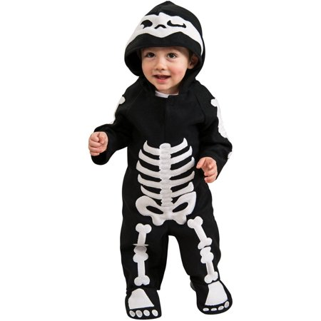 Baby Skeleton Toddler Halloween Costume, 3T-4T - Play Baby Hazel Halloween Party
