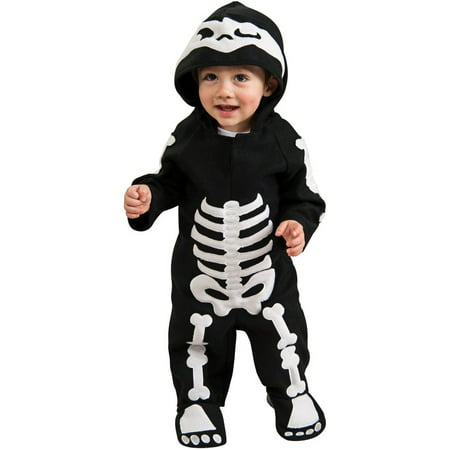 Baby Skeleton Toddler Halloween Costume, 3T-4T