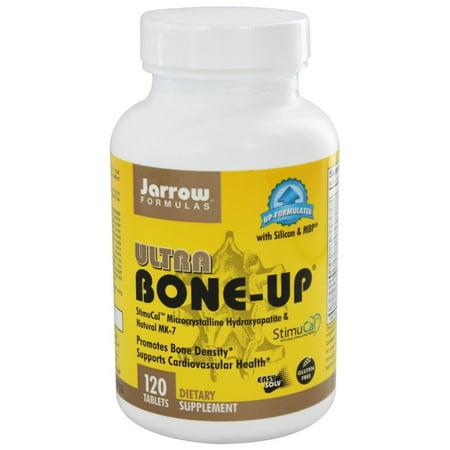 Jarrow Formulas Ultra Bone-Up, Promotes Bone Density, 120 Easy-Solv (Best Foods For Bone Density)