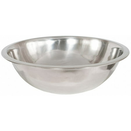 Crestware 1-1/2 qt. Stainless Steel Mixing Bowl Silver Stainless Steel MB01
