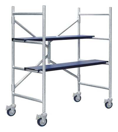 XTEND + CLIMB Portable Scaffold, 4 ft. H, Aluminum, IMAC by XTEND & CLIMB