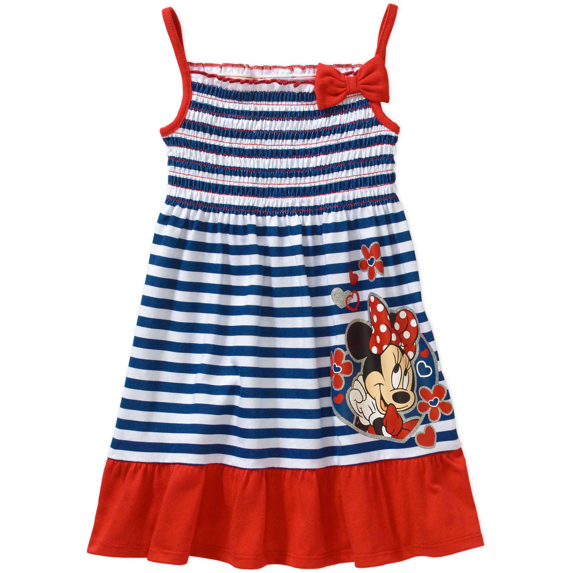 Minnie Mouse Baby Toddler Girl Summer Dress