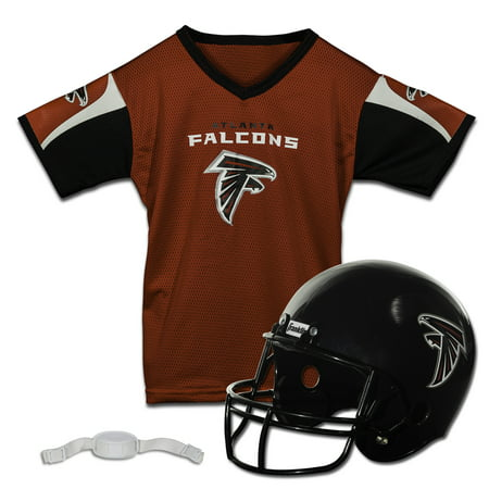 Nfl Mens Jerseys - Franklin Sports NFL Team Licensed Helmet Jersey Set