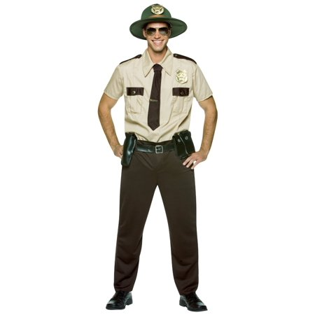 State Trooper Adult Costume Walking Dead Sheriff Rick Grimes - Rick Costume Walking Dead