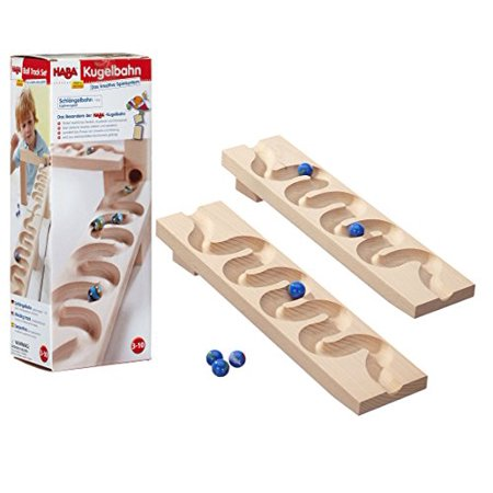 Sidewinder Track - Marble Ball Track Accessory](Marble Track Toy)