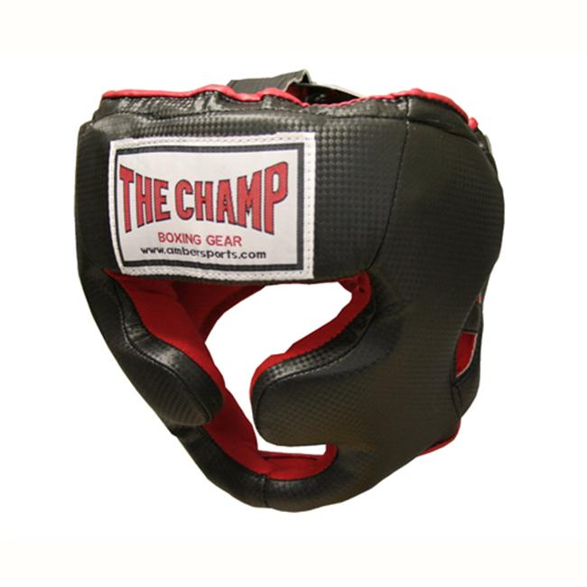 Amber Sporting Goods UHG-B-M Champ Training Headgear Medium