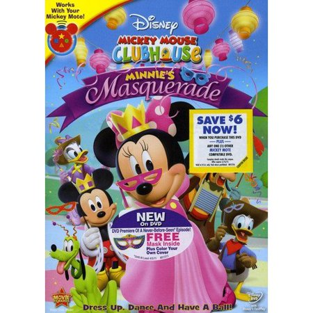 Mickey Mouse Clubhouse  Minnies Masquerade  Full Frame