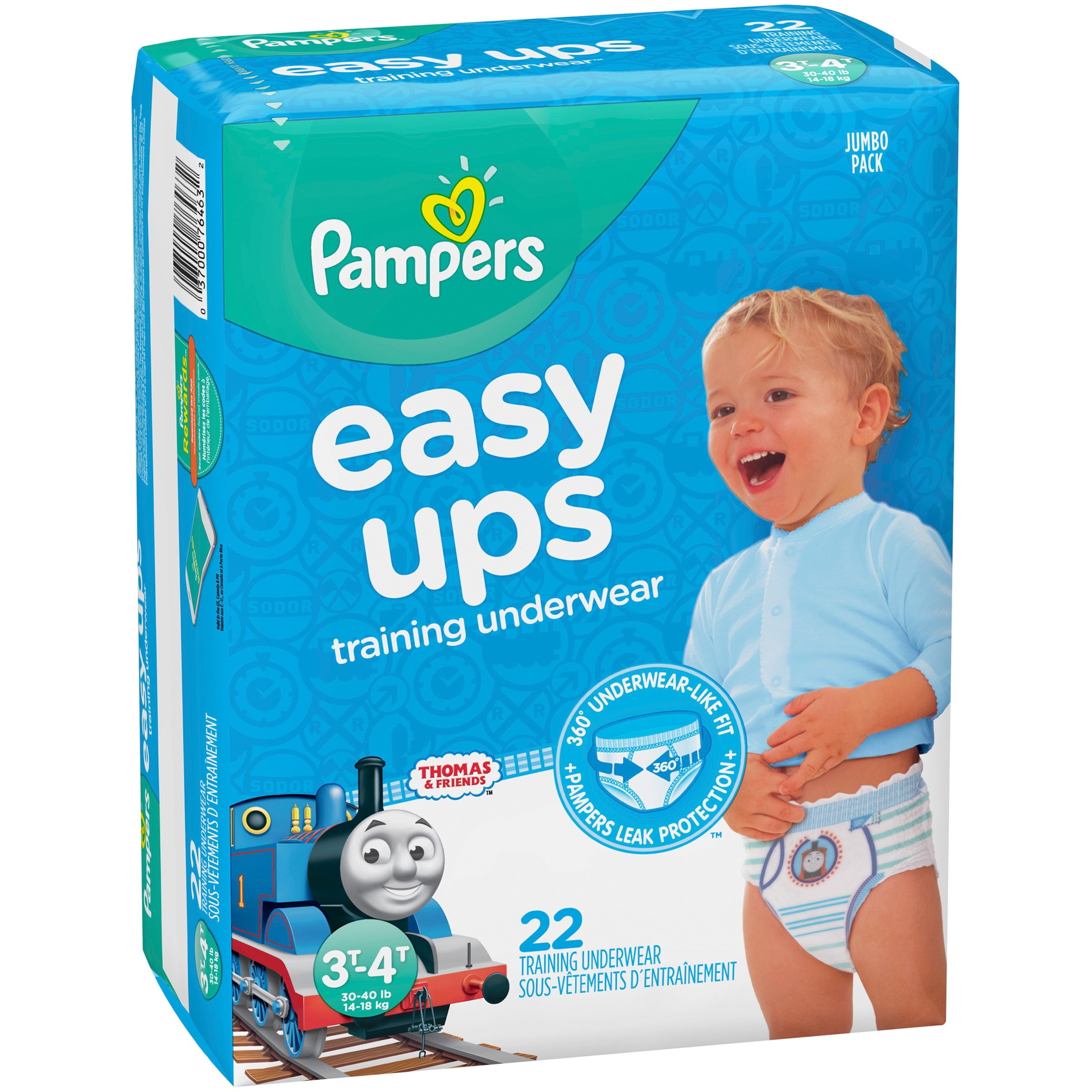 Pampers Easy Ups Thomas & Friends™ Training Underwear Size 3T–4T, 22 Count