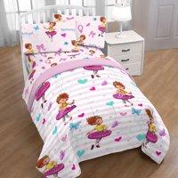 Disney Fancy Nancy Fantastique 4 Piece Twin Bed in a Bag