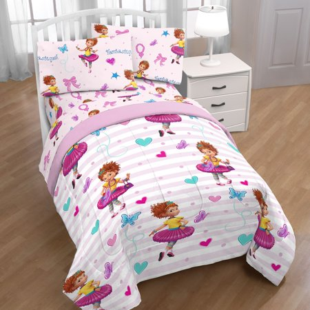Fancy Nancy Twin Bedding Set Pink