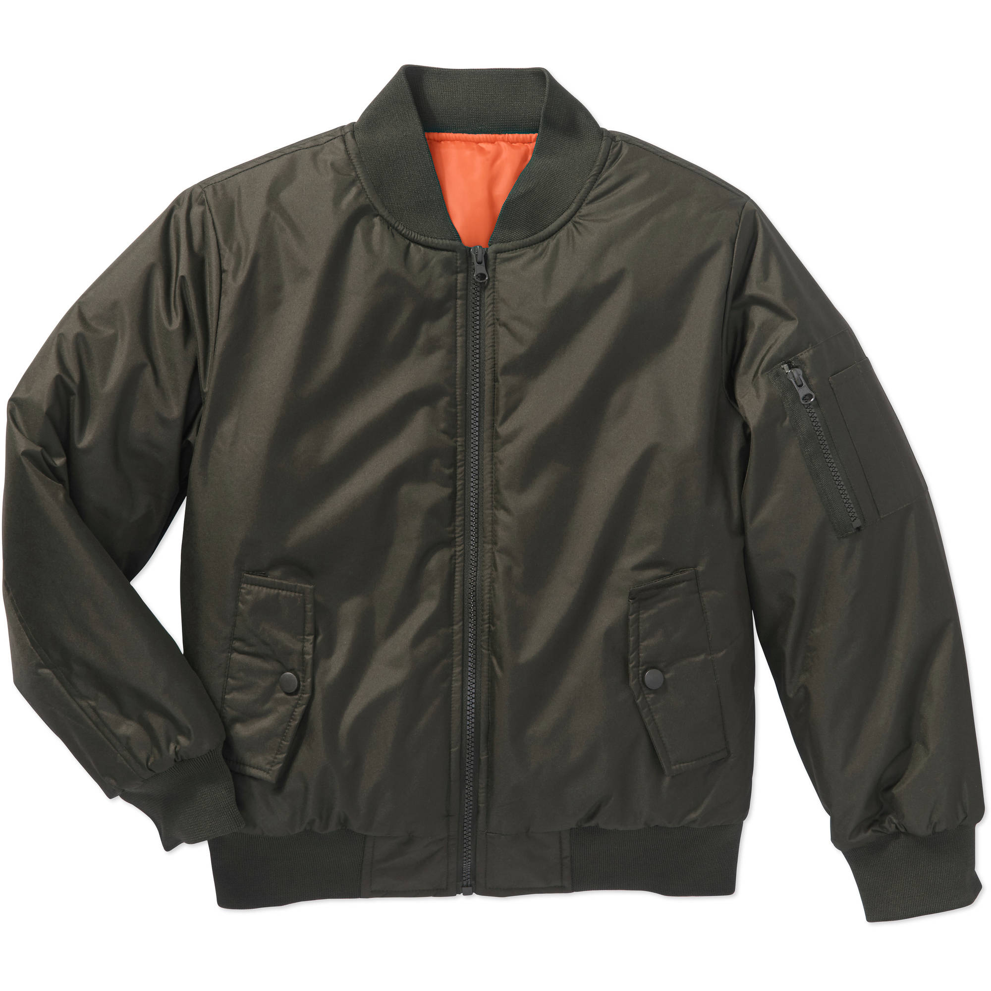 Bocini Boys' Bomber Jacket - Walmart.com