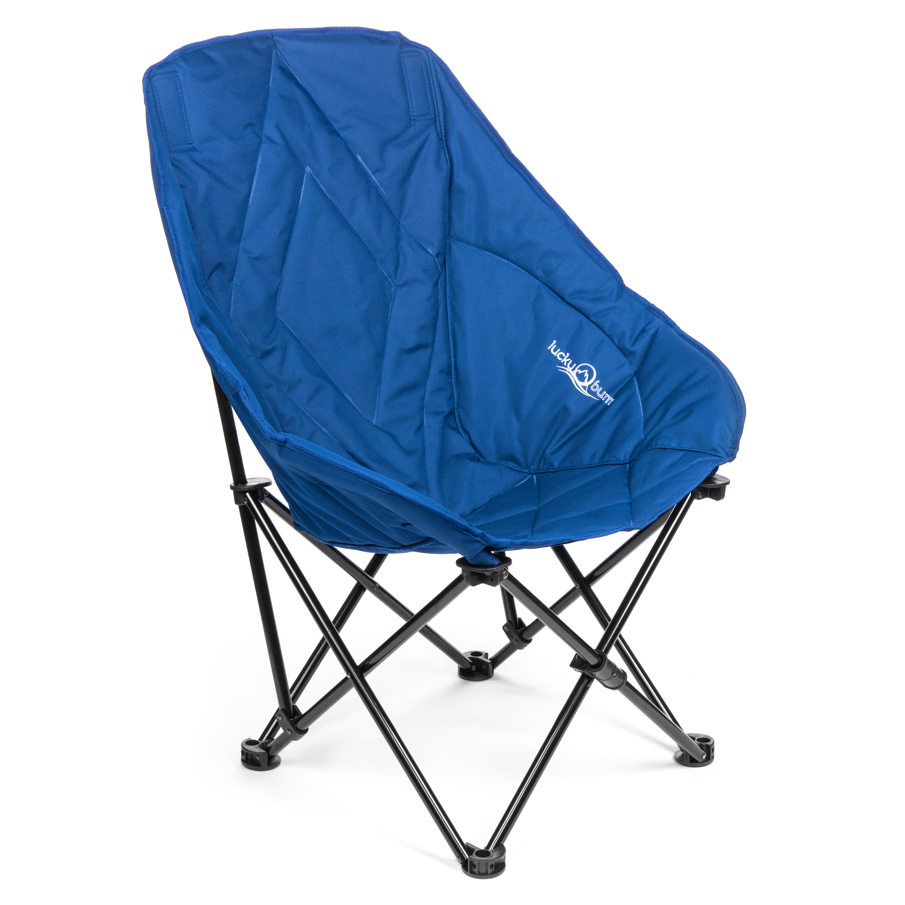 Click here to buy Lucky Bums Sofa Lounge Camp Chair, Navy, L by Lucky Bums.
