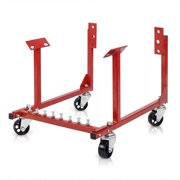 Goplus 1000lb Auto Engine Cradle Stand Chevy Dolly Mover Repair Rebuild w/Wheels