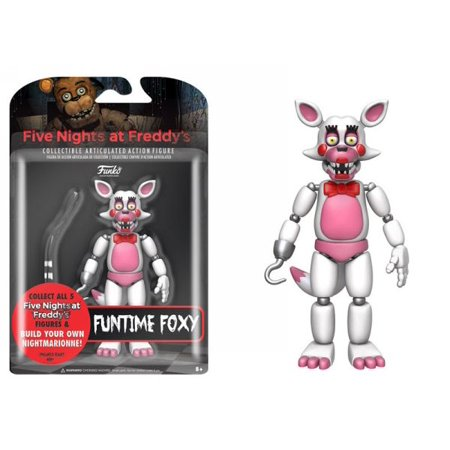 FUNKO ARTICULATED ACTION FIGURE: FIVE NIGHTS AT FREDDYS - FUNTIME FOXY 5