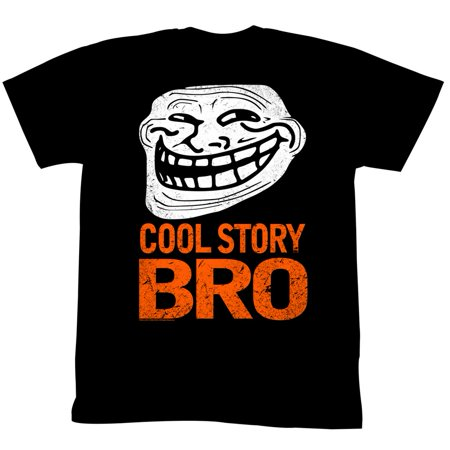 U Mad  You Mad Bro  Meme Gif Trending Halloween Cool Story Bro Adult T Shirt