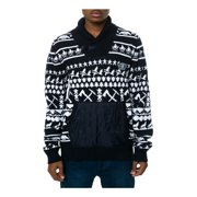 Born Fly Mens The Aviator Cardigan Sweater