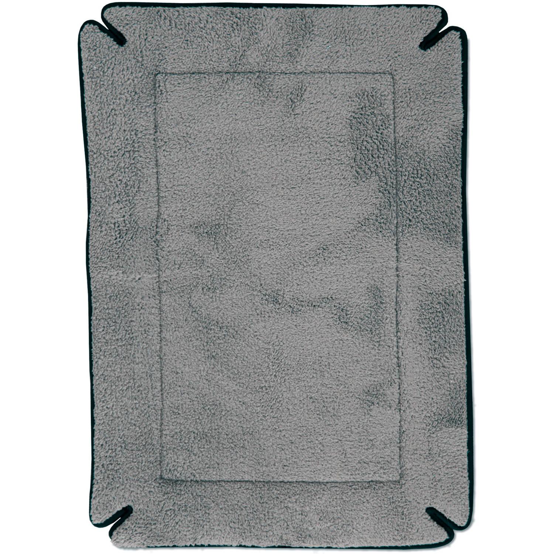 "K&H Pet Products Memory Foam Crate Pad, Grey, 20"" x 25"""
