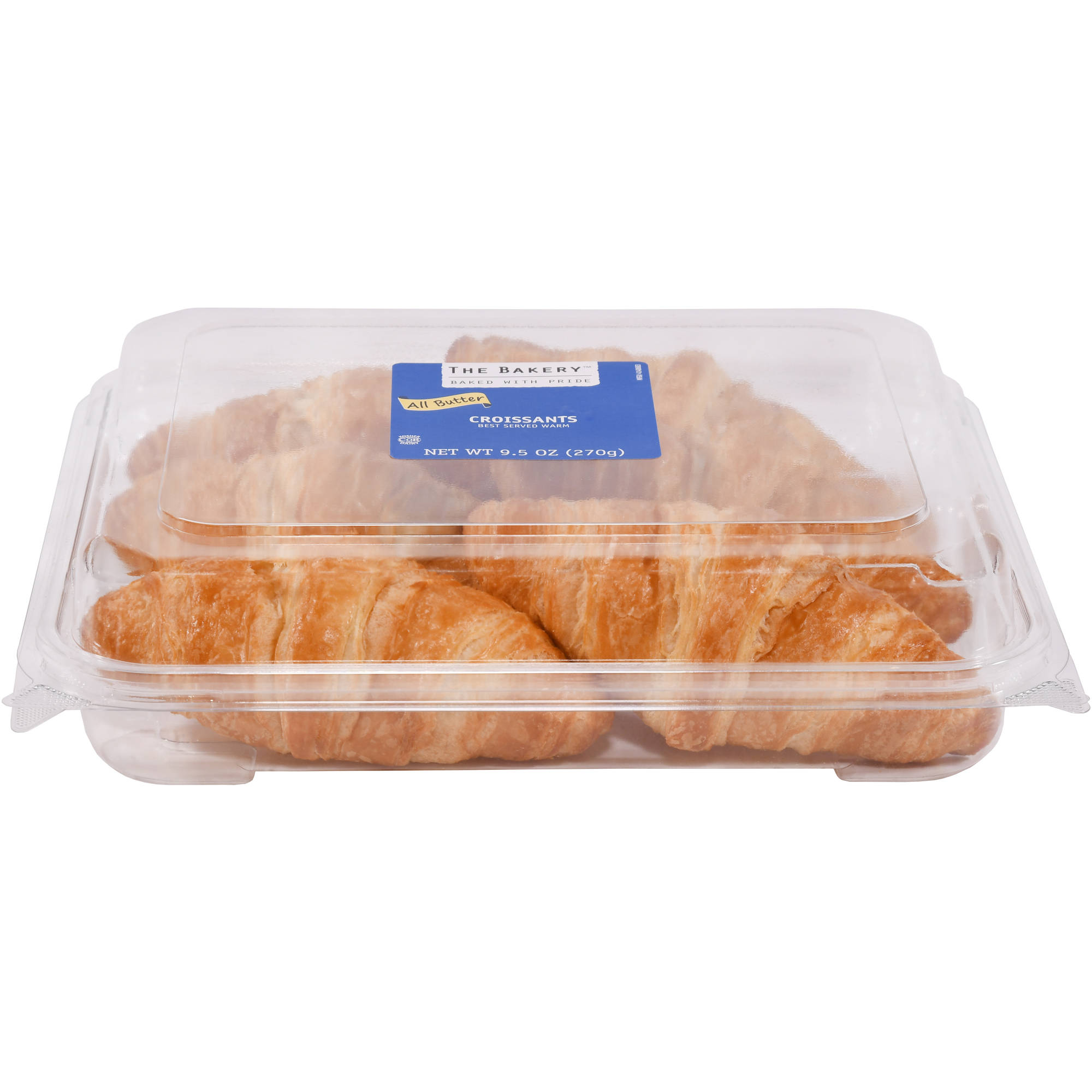 The Bakery at Walmart Butter Croissants, 6 ct
