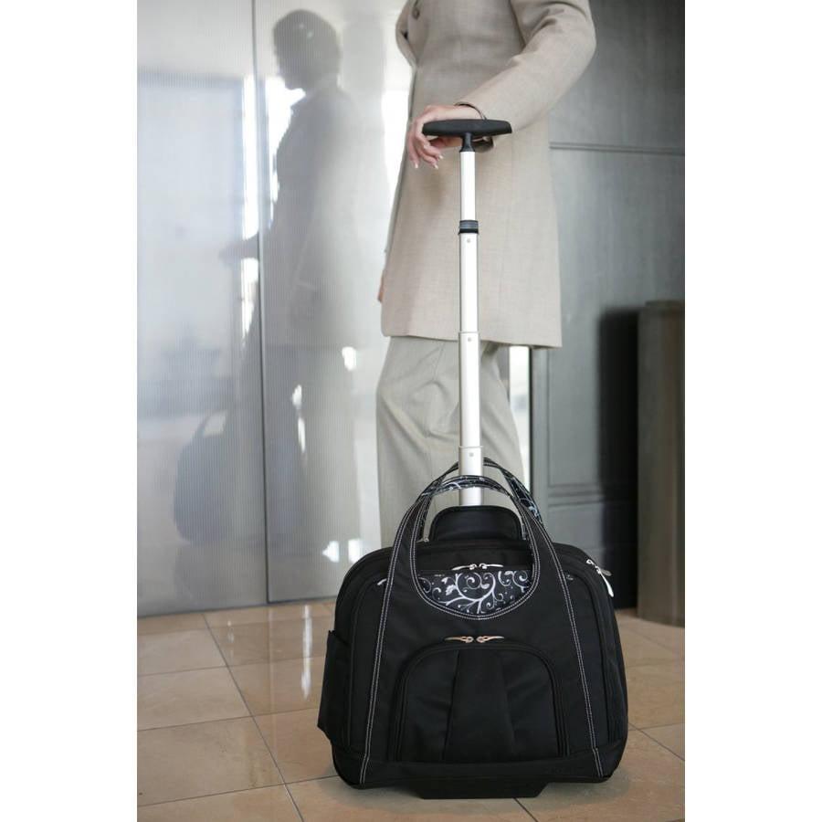 Kensington Contour Balance Women's Laptop Bag with Wheels by Kensington