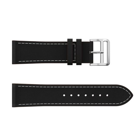 Compatible for Fitbit Versa Lite Bands, EEEKit Replacement Leather Band Women Men Watch Band Strap for Fitbit Versa & Fitbit Versa Lite, Fits 5.5