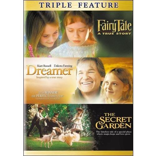 Fairytale: A True Story / Dreamer: Inspired By A True Story / The Secret Garden (Widescreen)
