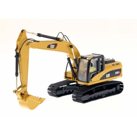 CAT Caterpillar 320D L Hydraulic Excavator with Operator 1/50 Diecast Model by Diecast Masters ()