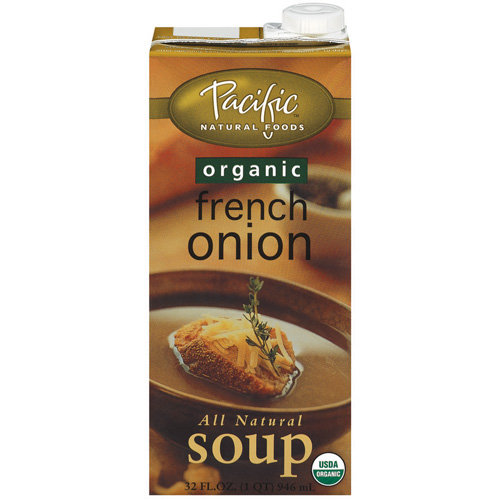 (2 Pack) Pacific Natural Foods Organic French Onion Soup, 32 fl oz
