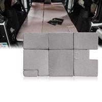 Xprite Sand NitePad Premium Portable Sleeping Pad Cushion Fits Jeep Wrangler JKU 2007-2018 (4 Door Only)