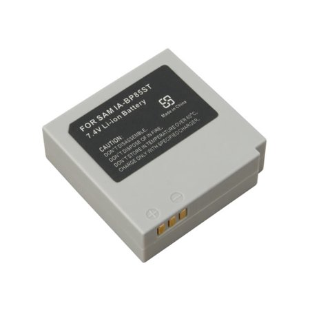Samsung SMX-F34 Camcorder Battery Lithium-Ion 1000mAh - Replacement for Samsung IA-BP85ST  Battery (Bp2000 Samsung Camera Battery)