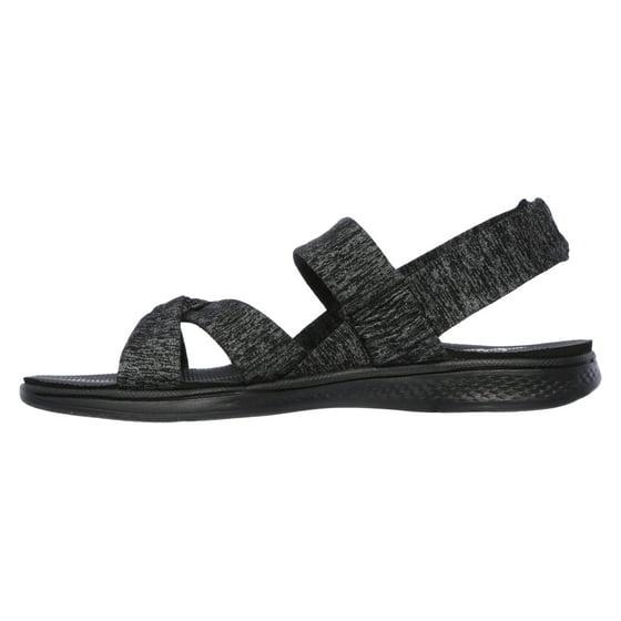 bdaf704a0998 Skechers - Skechers 14682 BKGY Women s H2 GOGA-BOUNTIFUL Sandal ...
