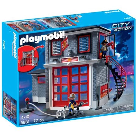 PLAYMOBIL Fire Rescue Station (Rescue Station)