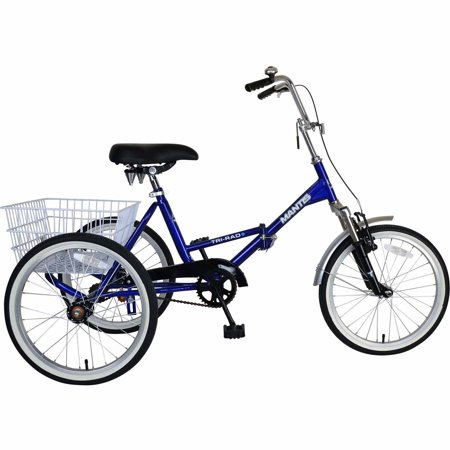 Mantis Tri-Rad Adult Folding (Best Adult Tricycles)