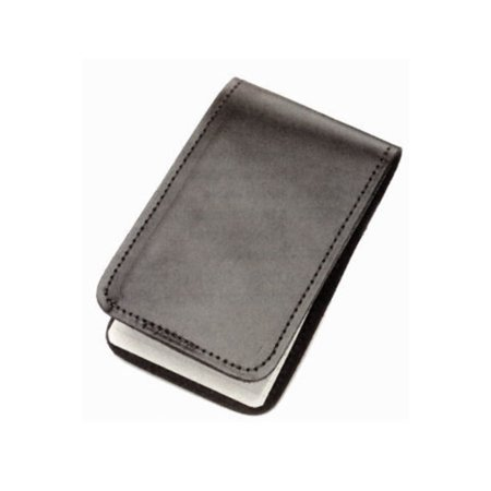 Refillable Notepad Holder - HWC LEATHER POCKET 3X5 MEMO BOOK COVER NOTE PAD HOLDER - PLAIN