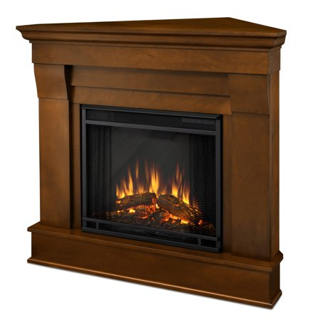 Real Flame Chateau Corner Electric Fireplace - Espresso