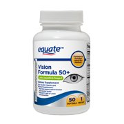 Equate Vision Formula 50+ Softgels, 50 Count