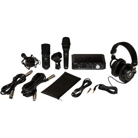 Mackie Recording Bundle with Onyx Producer Interface, EM89D Dynamic Mic, EM91C Condenser Mic and MC-100 Headphones Mackie Onyx Recording