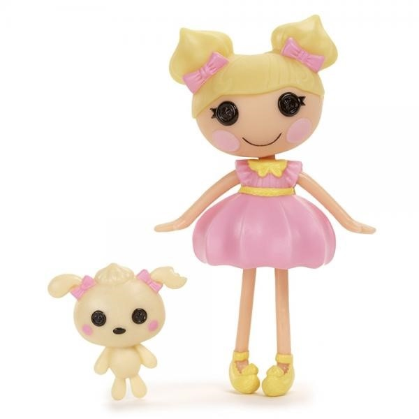 Lalaloopsy Mini Doll, Dollop Light-N-Fluffy