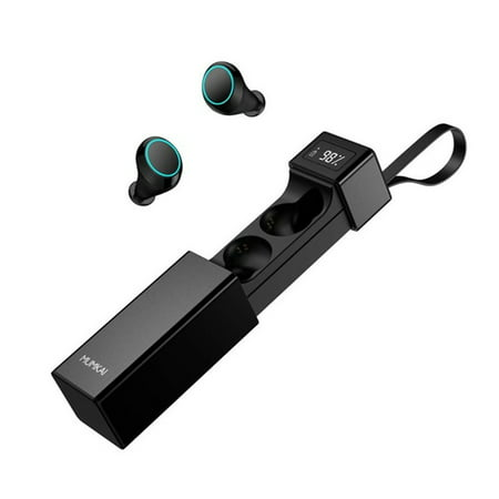 Waterproof bluetooth 5.0 Wireless Earbuds Stereo Earphones Headphones with Charging Case